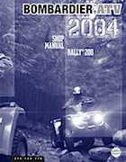 2004 Bombardier Rally 200 Series Shop Manual