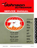 1978 Johnson 175, 200, 235 HP Outboard Service Manual