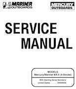 Mercury Mariner 8/9.9HP 4-Stroke Factory Service Manual